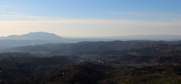 Mount Soratte, in the Sabine Hills near Rome, Lazio, Italy
