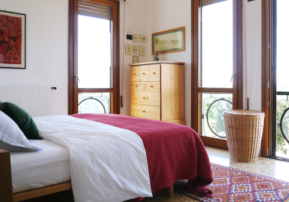 Master bedroom  - Villa to rent near Rome