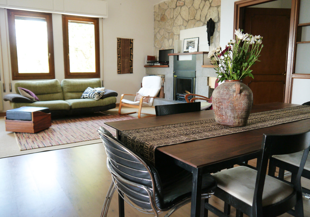 Dining table - Villa for rent near Rome
