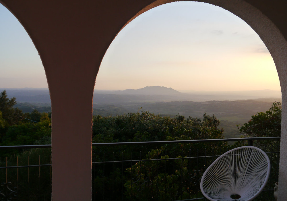 Sunset - villa for rent near Rome