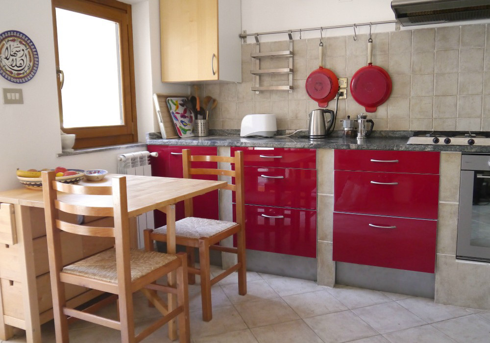 Kitchen - Villa for rent near Rome