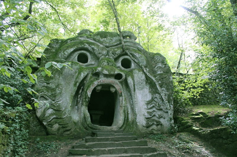 Places to visit Lazio- Bomarzo Gardens